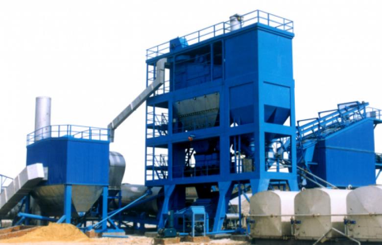 Асфальтный завод LQC120